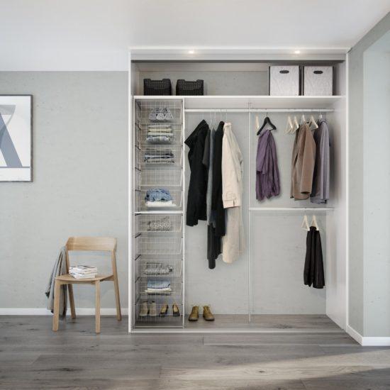 Innredning - innredningspakke 1, Garderobe, garderobemannen, garderobeskap