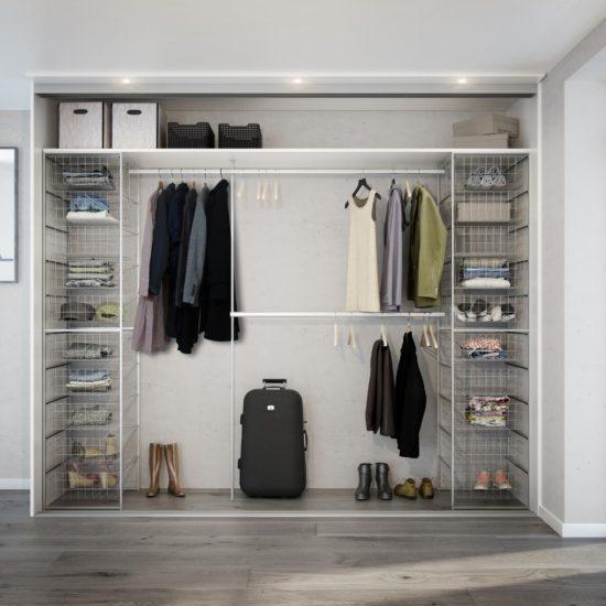 Innredning - innredningspakke 2, Garderobe, garderobemannen, garderobeskap
