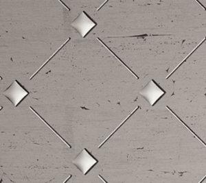 garderobemannen, Design dekor - PL-3D-Q10-30-30 Old Platin Silver