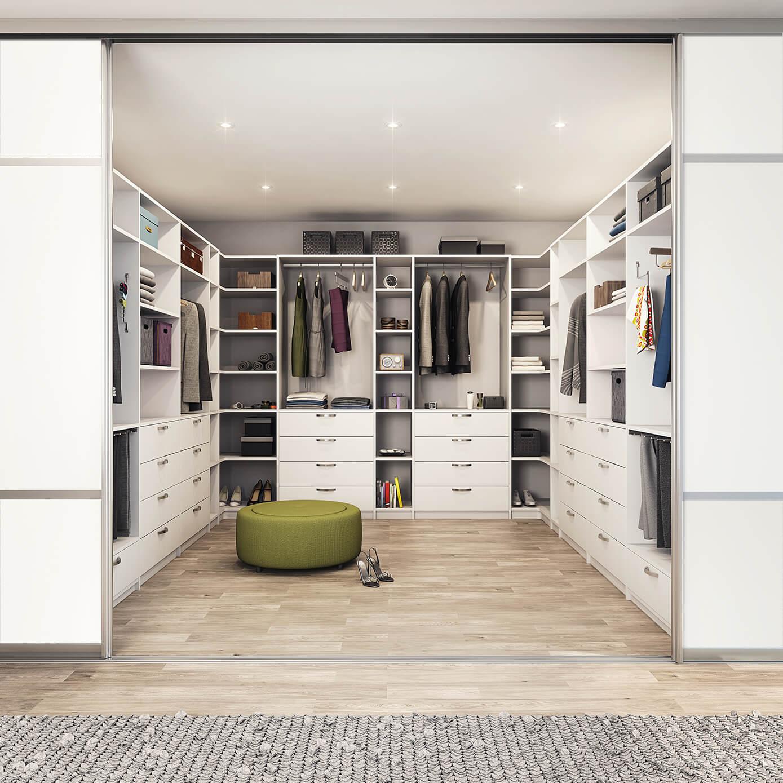 walk-in garderobe, garderobeskap